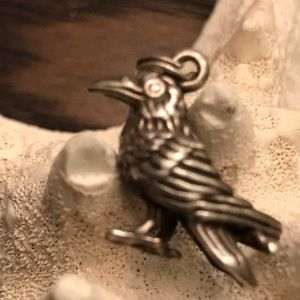 Jewelry - Wiccan Sterling Raven/Crow Charm